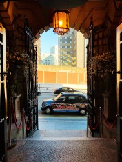 Photo of entrance to 30 James Street hotel Liverpool