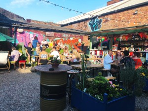 Photo of Botanical Gin Garden bar Liverpool