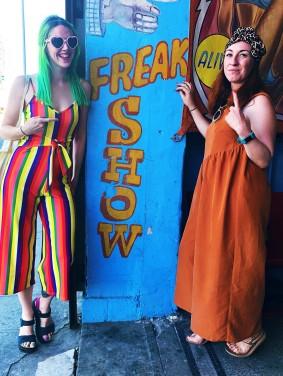 Photo of Coney Island freakshow