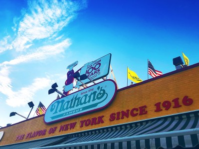 Photo of Nathan's Famous hotdogs coney island