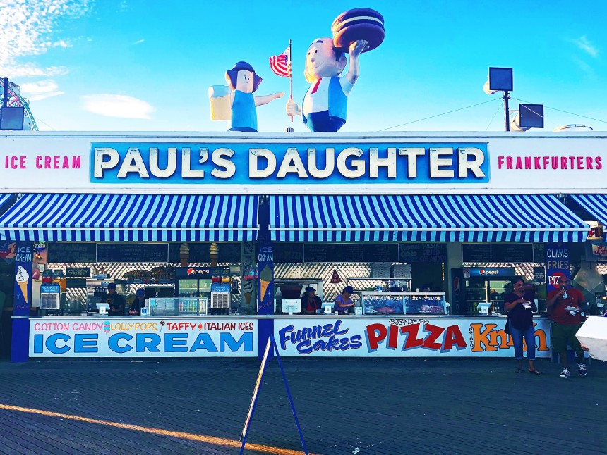 Photo of Paul's Daughter at Coney Island