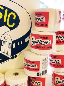 Photo of ESPOs Art World toilet paper