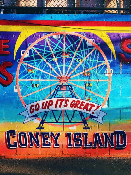 Photo of urban art at Coney Island New York