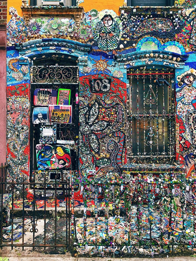 Alternative new york Brooklyn mosaic house 2
