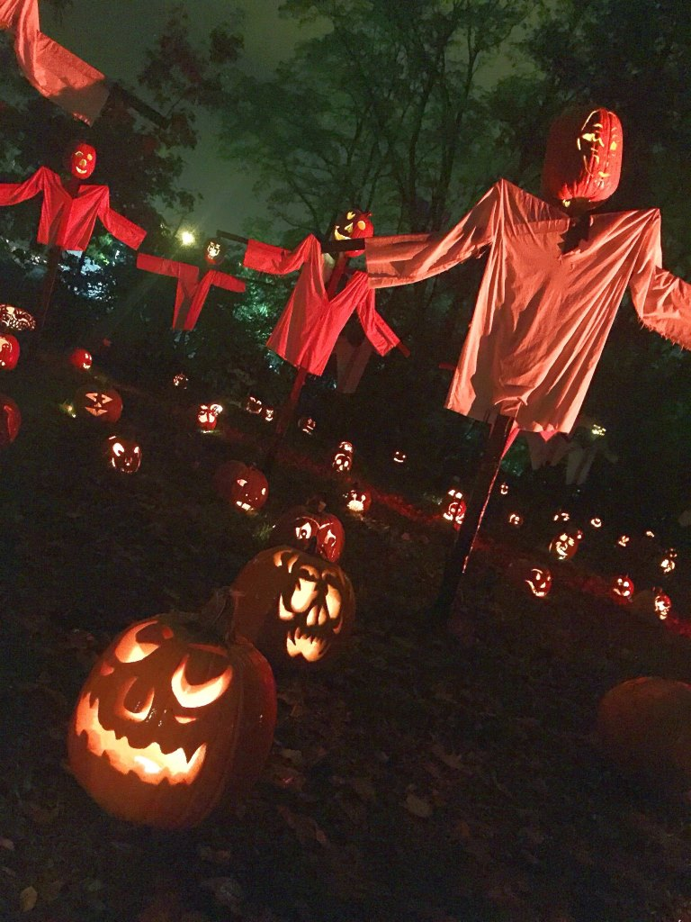 Halloween in New York Pumpkin Jack O Lantern Blaze